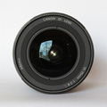 Canon EF 16-35mm F2.8 L II USM Front Lens View with model name inscription and filter size