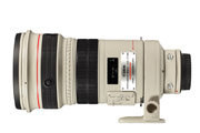 Canon EF 300mm F2.8L IS USM Side View