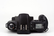 Canon EOS 500N Black Edition Body Top View