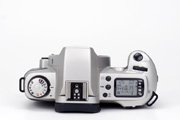 Canon EOS 500N Silver Edition Body Top View