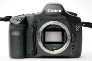 Canon EOS 5D Body Front View