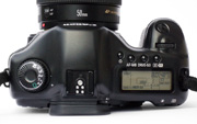 Canon EOS 5D Body Top View