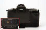 Canon EOS 600 Body Back View