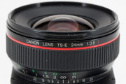 Canon TS-E 24mm f/3.5L Model Name Inscription