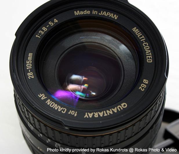 Aspherical Lens Canon Canon ef Front Lens View
