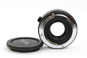 Kenko Teleplus Pro 300 AF 1.4x for Canon EF Bottom View showing 8 electronic contacts