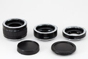 Soligor Extension Tube Set for Canon EOS - 36mm, 20mm and 12mm