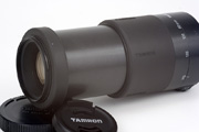 Tamron AF 80-210mm 4.5-5.6 178D for Canon EF Side View showing full zoom extension